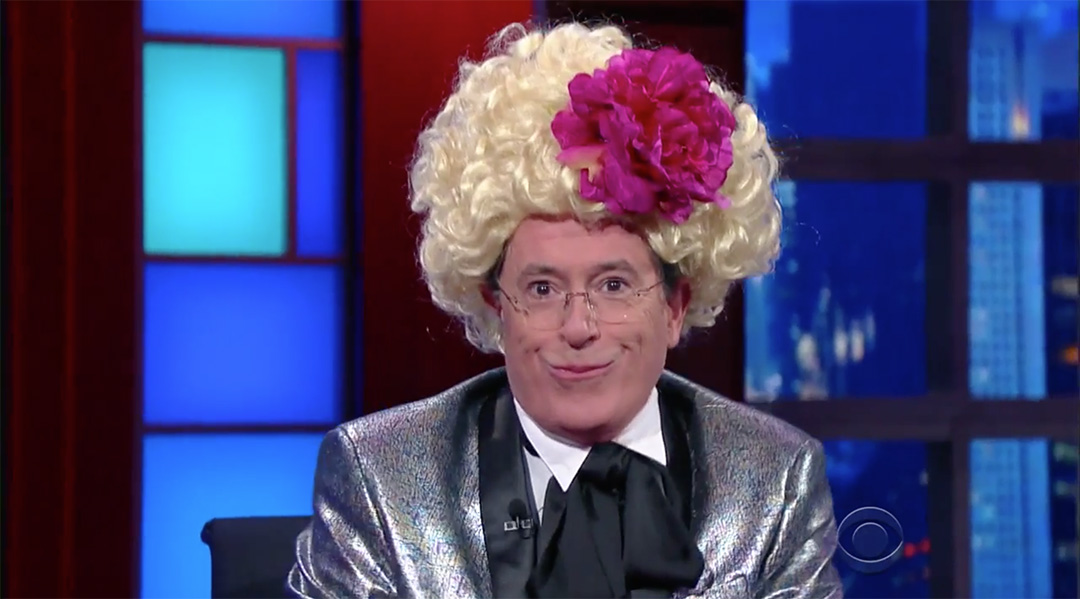 late show stephen colbert hunger games