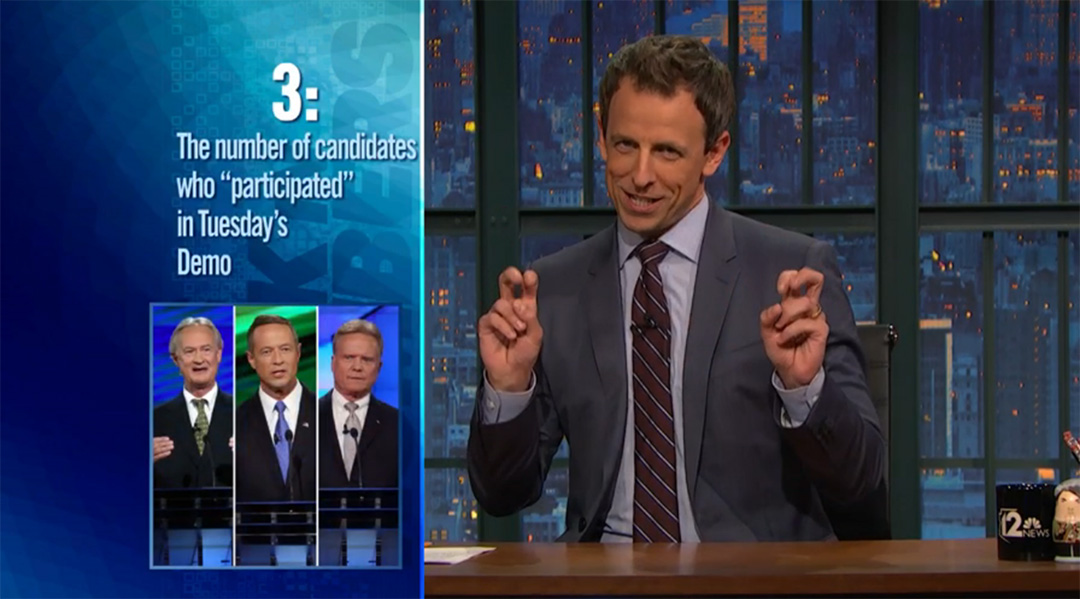 seth meyers late night this week in numbers