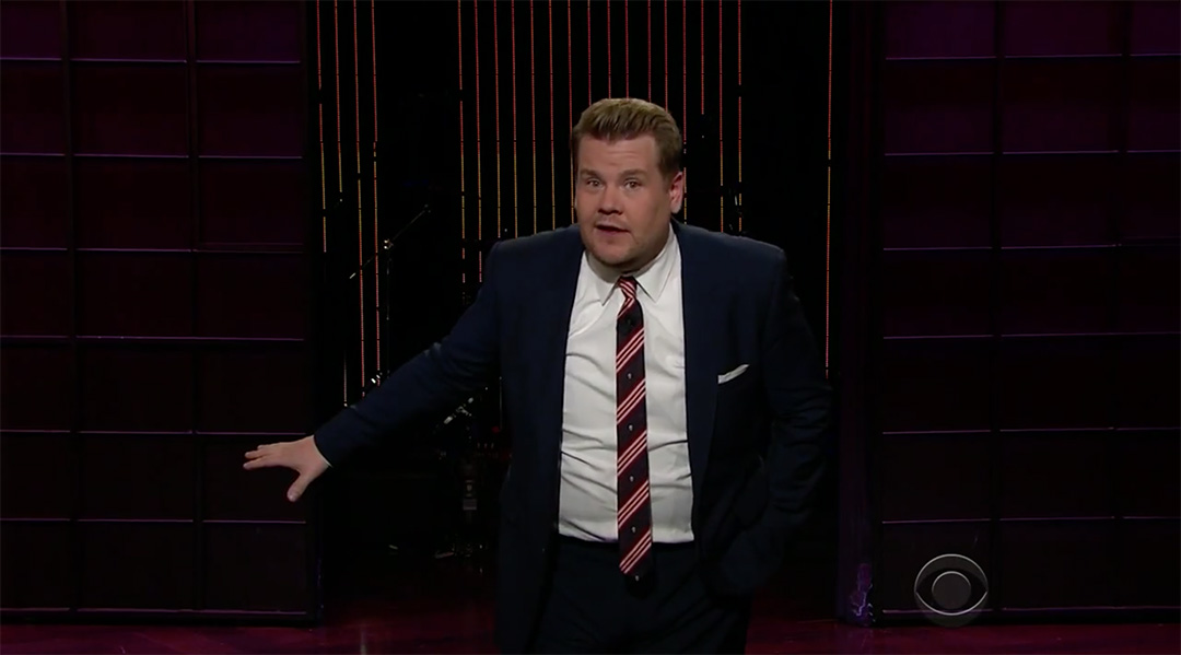 late late show james corden trump