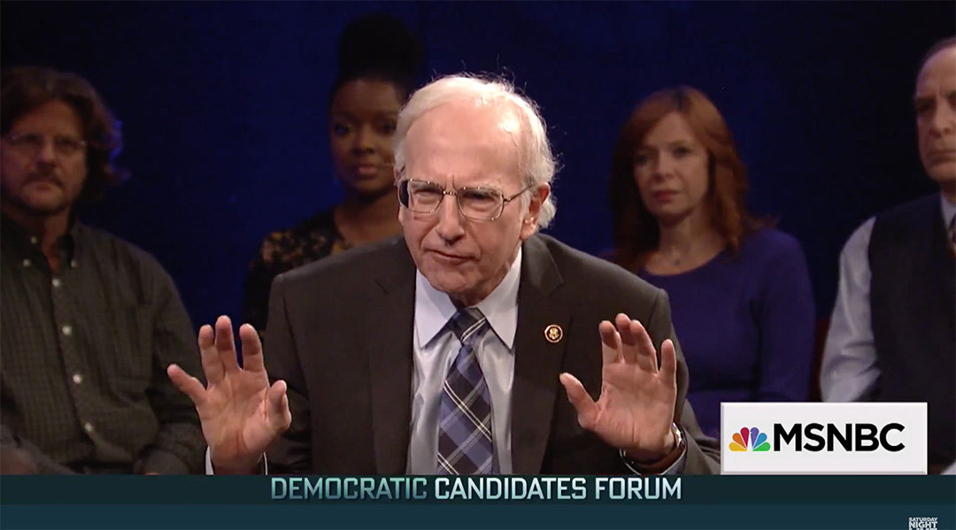 saturday night live larry david