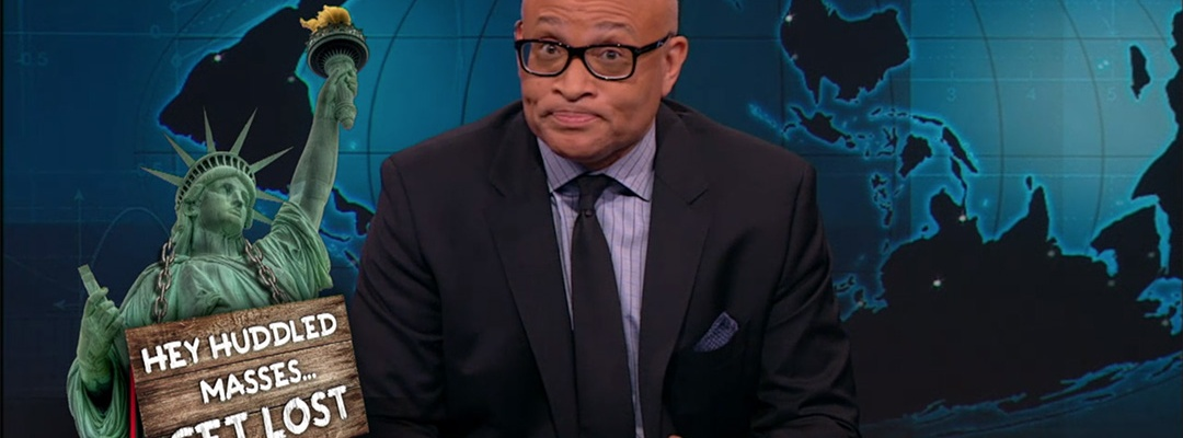 larry wilmore night show syrian refugees