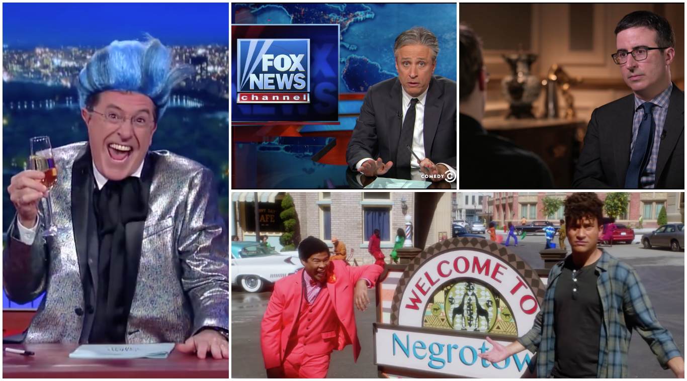 10 best late night satire