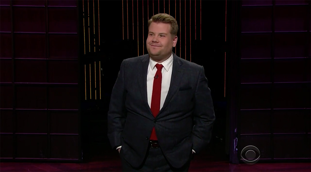 late late show james corden thailand