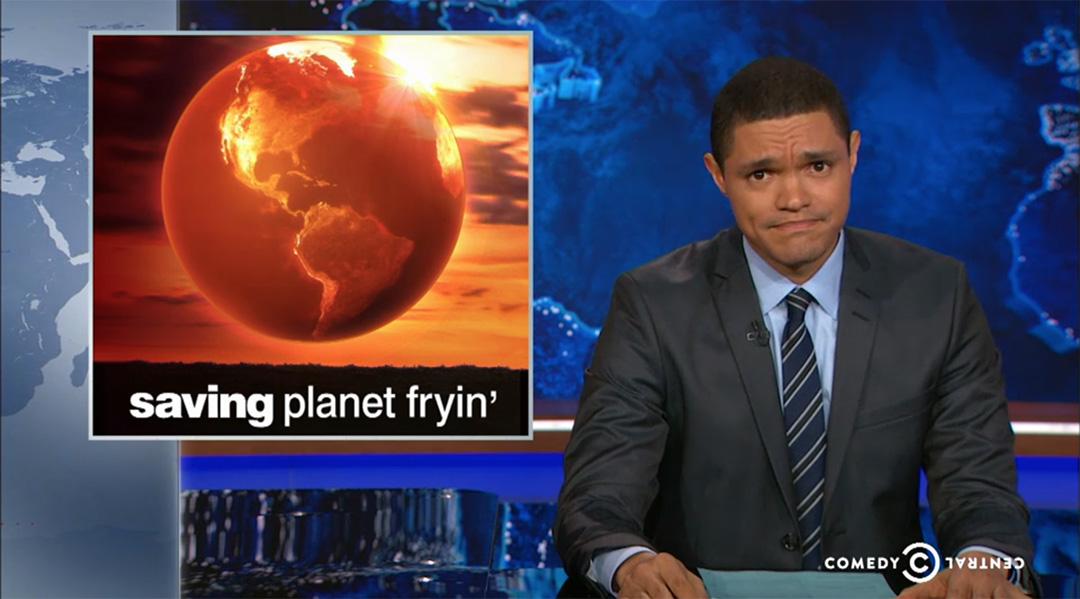 daily show trevor noah climate change COP21