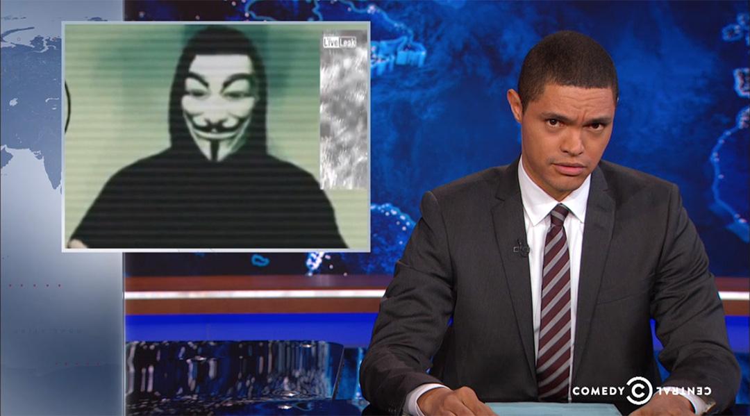 daily show trevor noah Anonymous