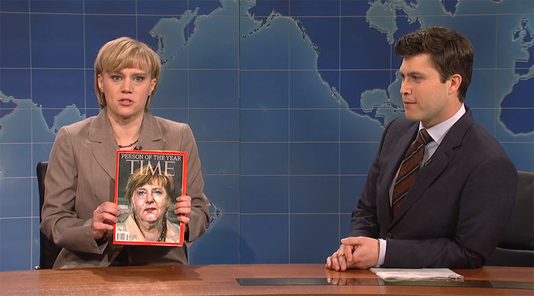 weekend update snl merkel