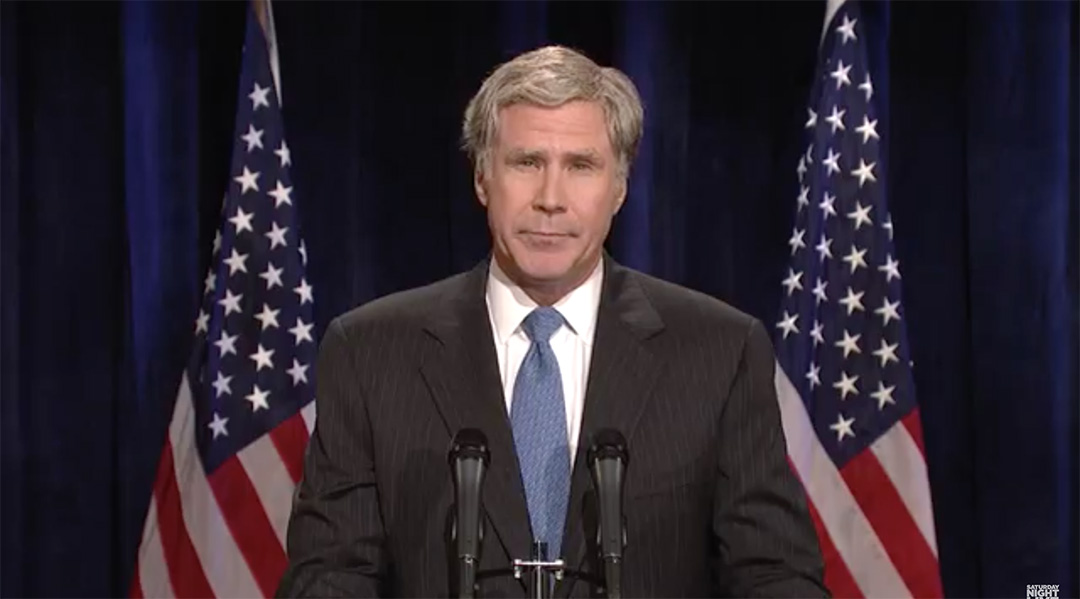will ferrell george w bush snl