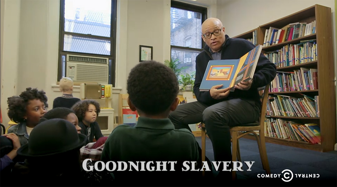 larry wilmore goodnight slavery nightly show
