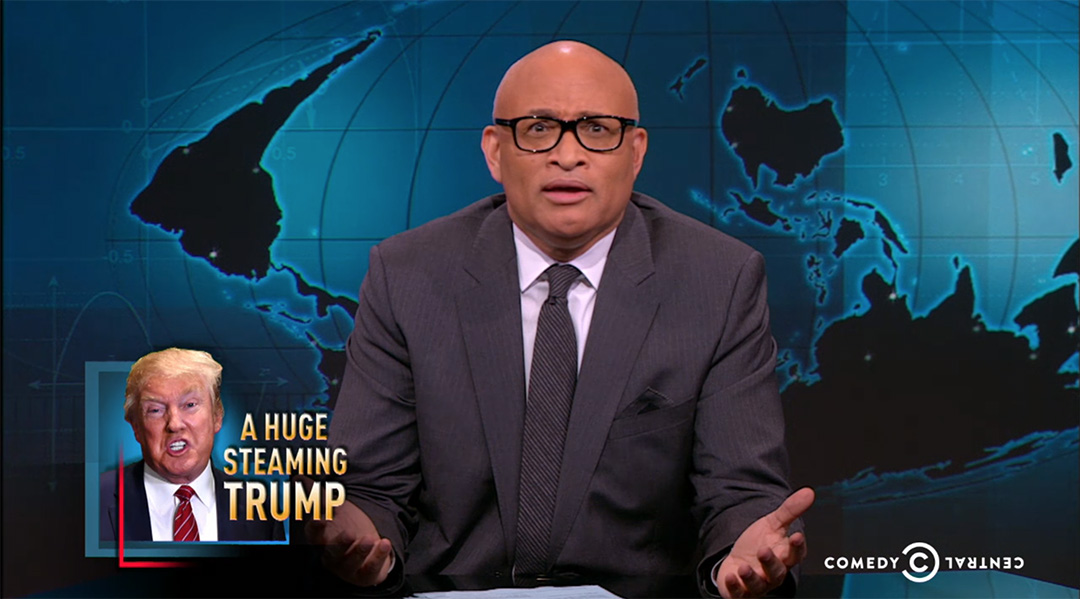 nightly show larry wilmore donald trump