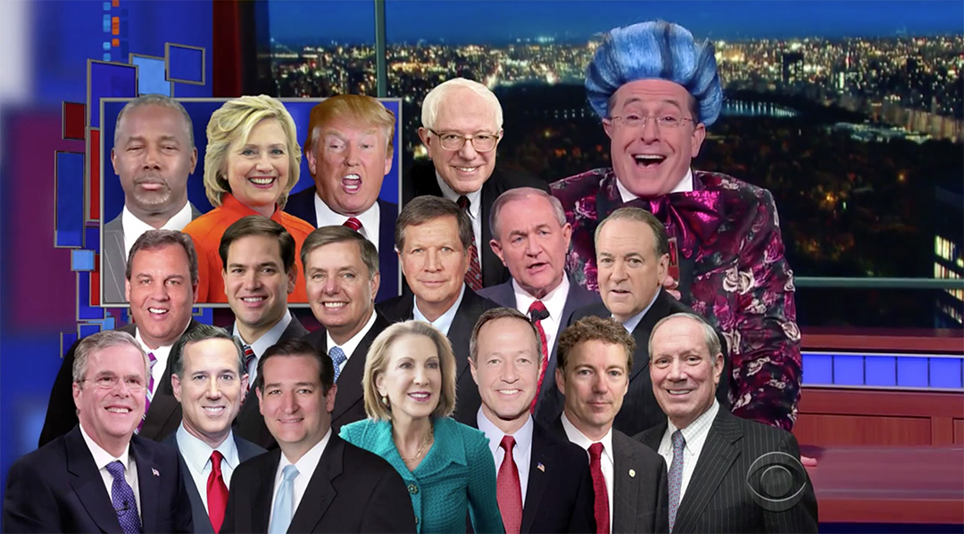colbert candidates hungry for power