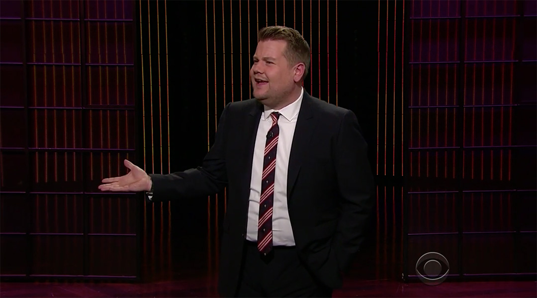 corden airbnb late late show