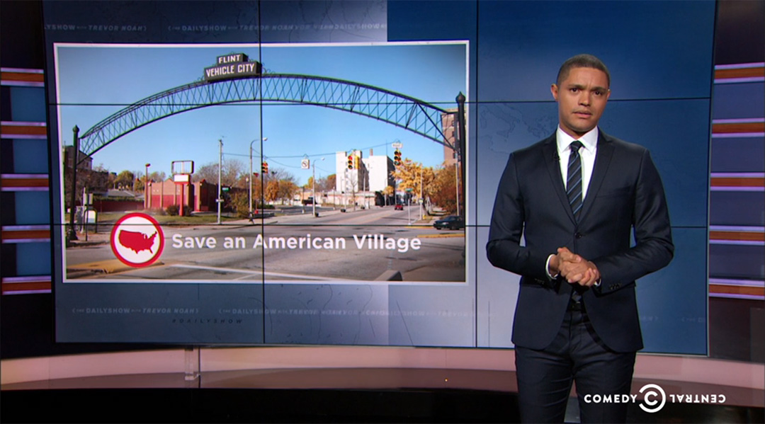 flint michigan porter ranch trevor noah