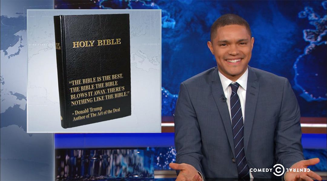 trevor noah bible daily show