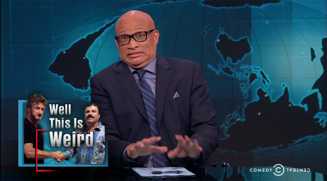 sean penn larry wilmore nightly show
