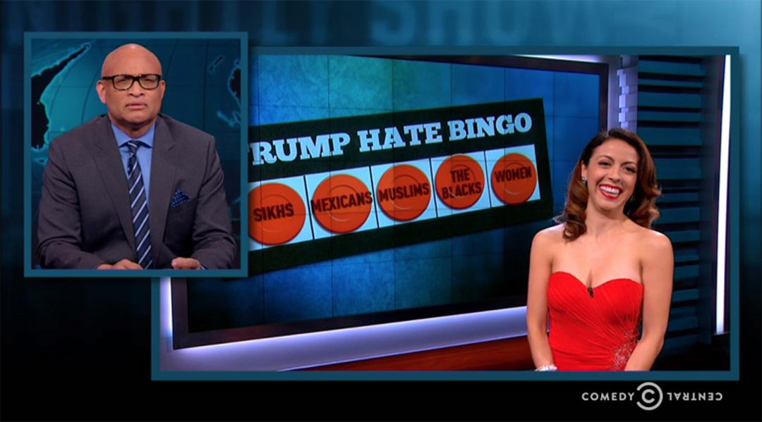 larry wilmore bingo