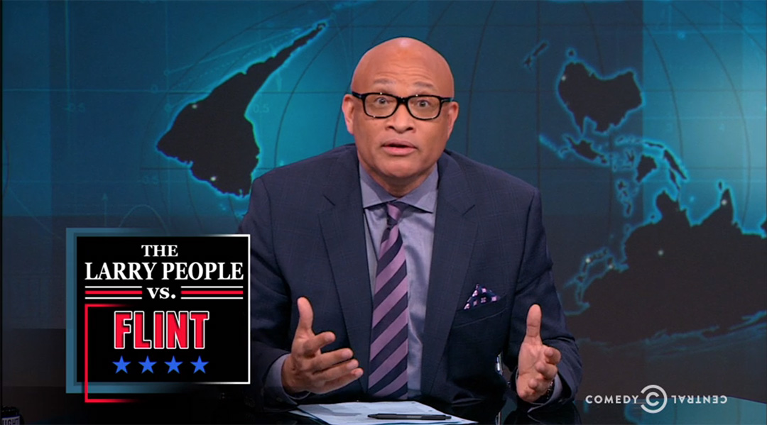 flint michigan larry wilmore