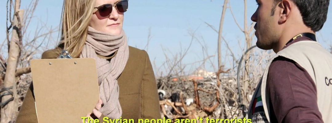 Syrian refugee camp samantha bee full frontal
