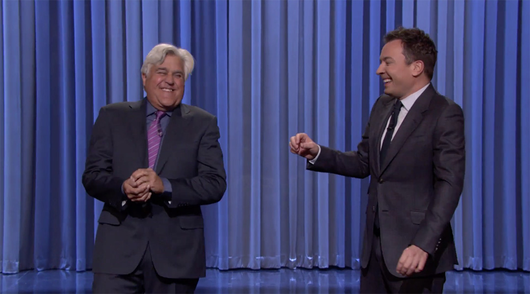jay leno jimmy fallon tonight show