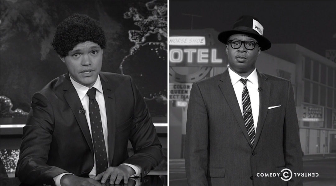 black history month daily show