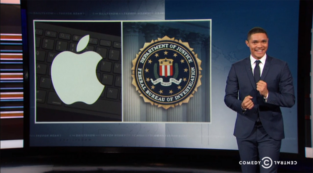 apple fbi daily show trevor noah