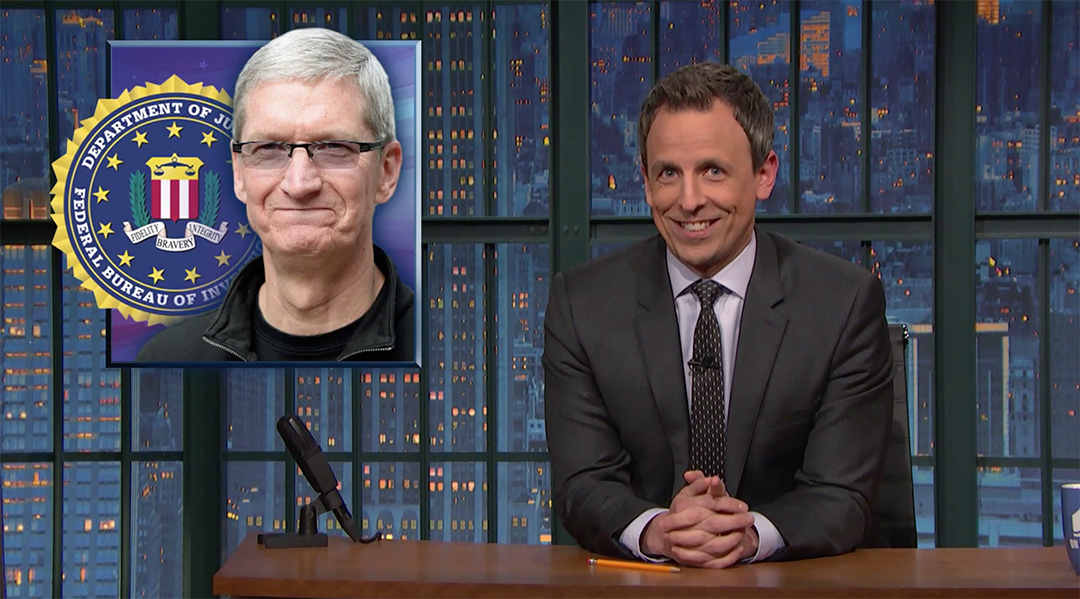 seth meyers apple late night fbi