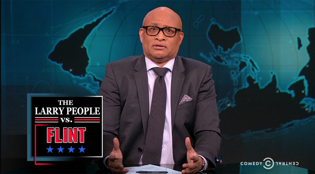 flint michigan larry wilmore nightly show