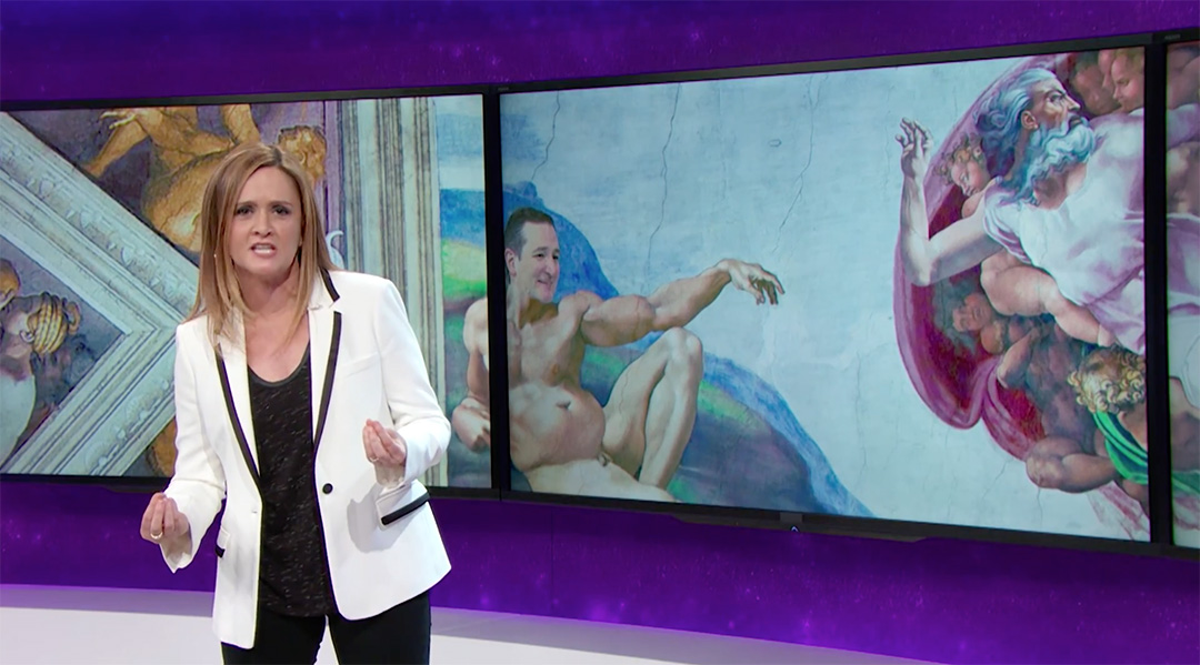ted cruz samantha bee full frontal