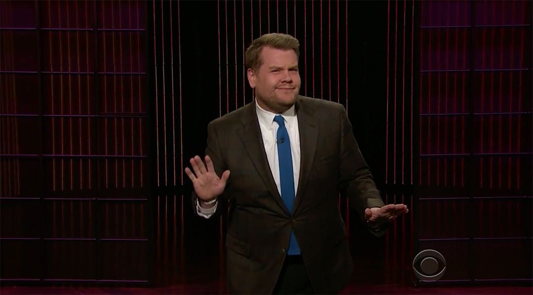 endorsements james corden late late show
