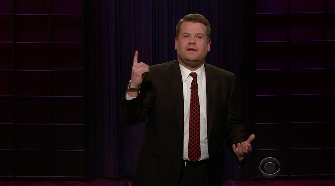 late late show, pancakes james corden