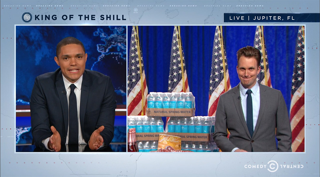 trump products daily show