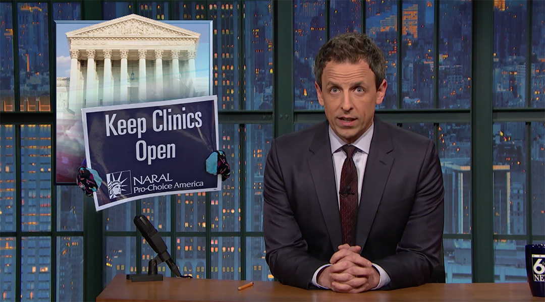 abortion scotus seth meyers late night