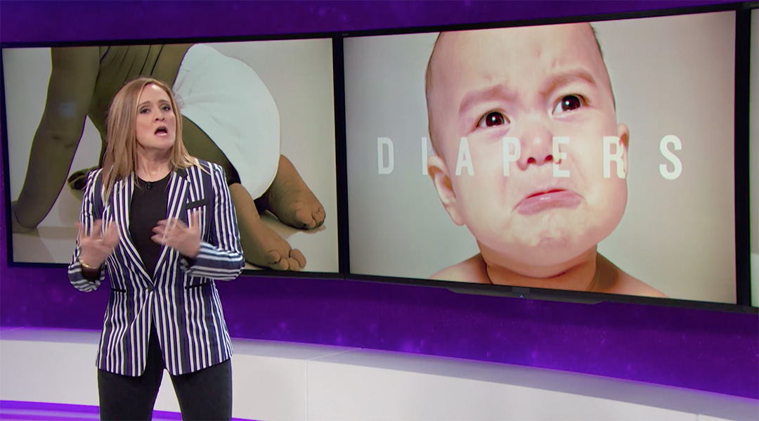 diapers samantha bee
