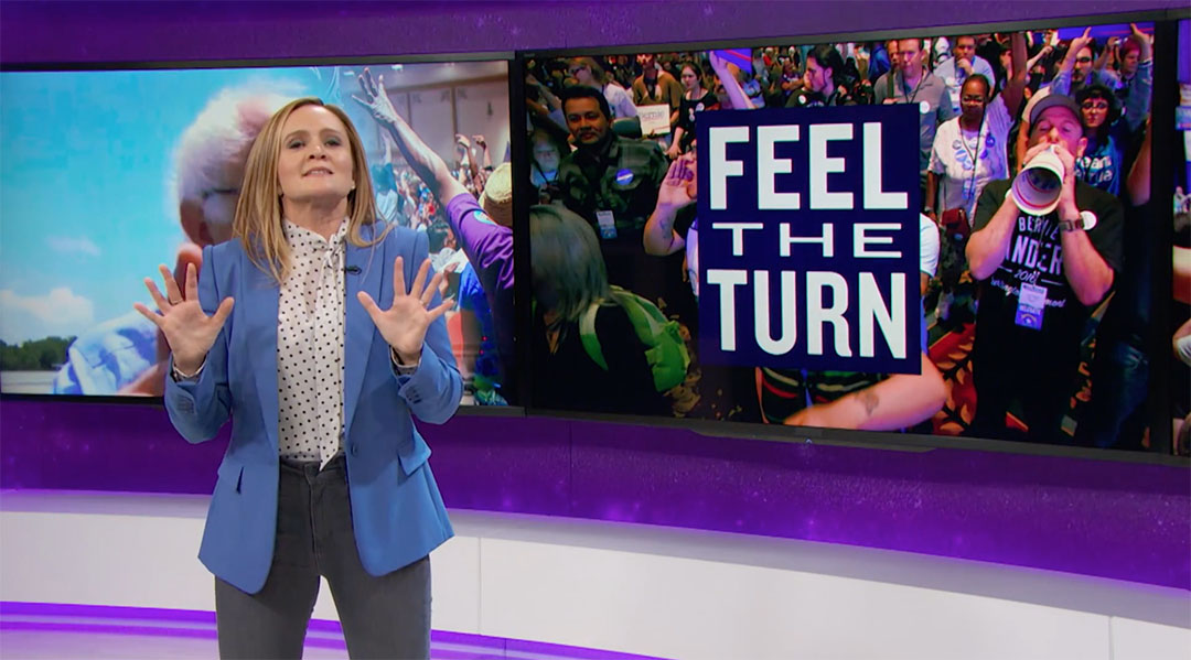 nevada sanders samantha bee