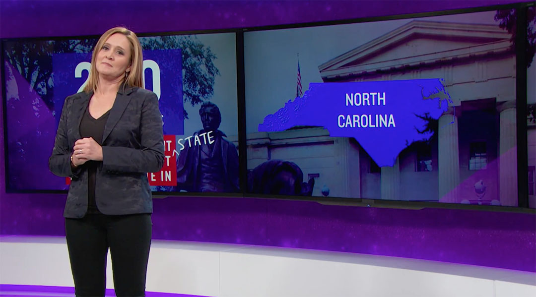 north carolina samantha bee