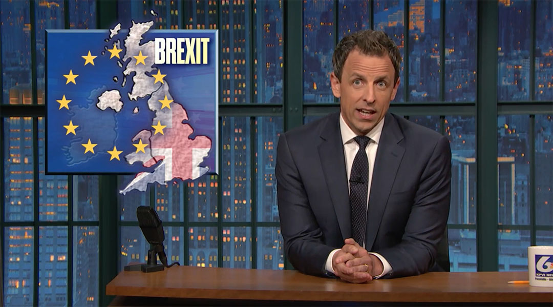 eu uk brexit seth meyers