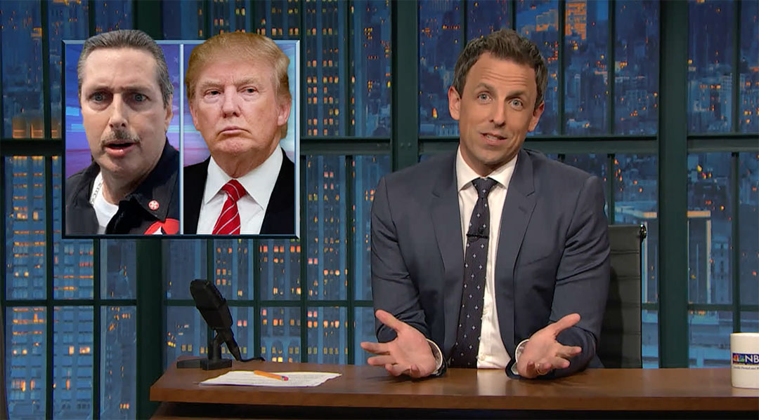 trump white nationalists seth meyers