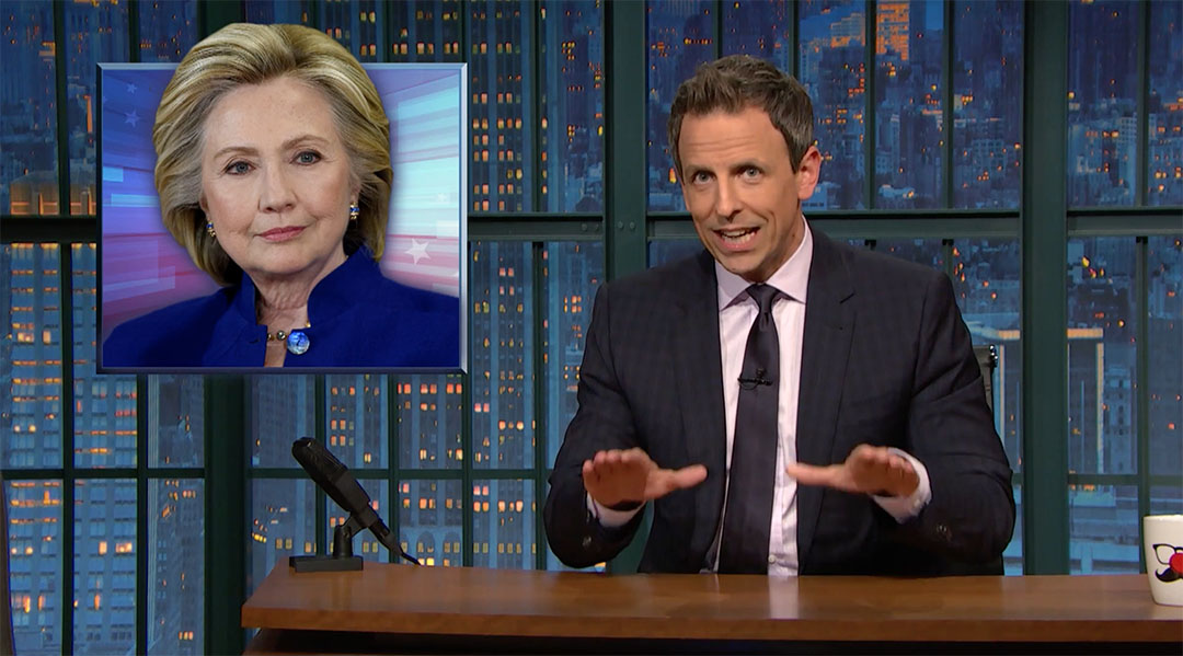 clinton email scandal seth meyers
