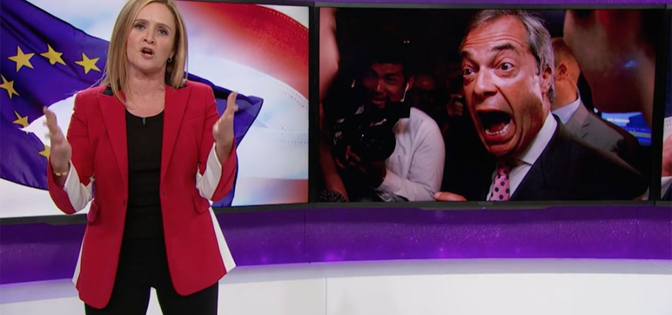 brexit nigel farage samantha bee