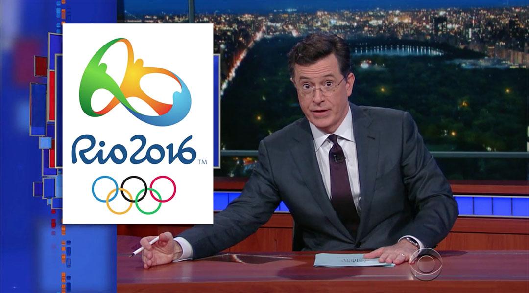 rio olympics colbert