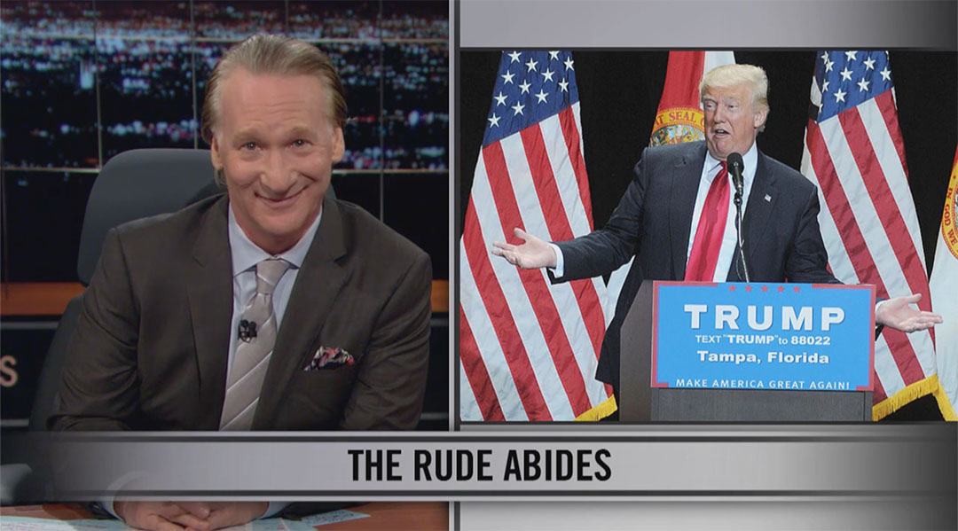 bill maher real time trump