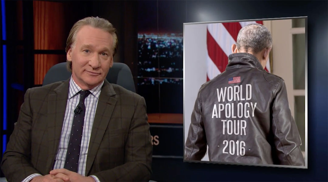 bill maher apology tour