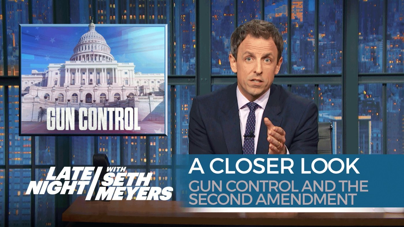 second amendment seth meyers
