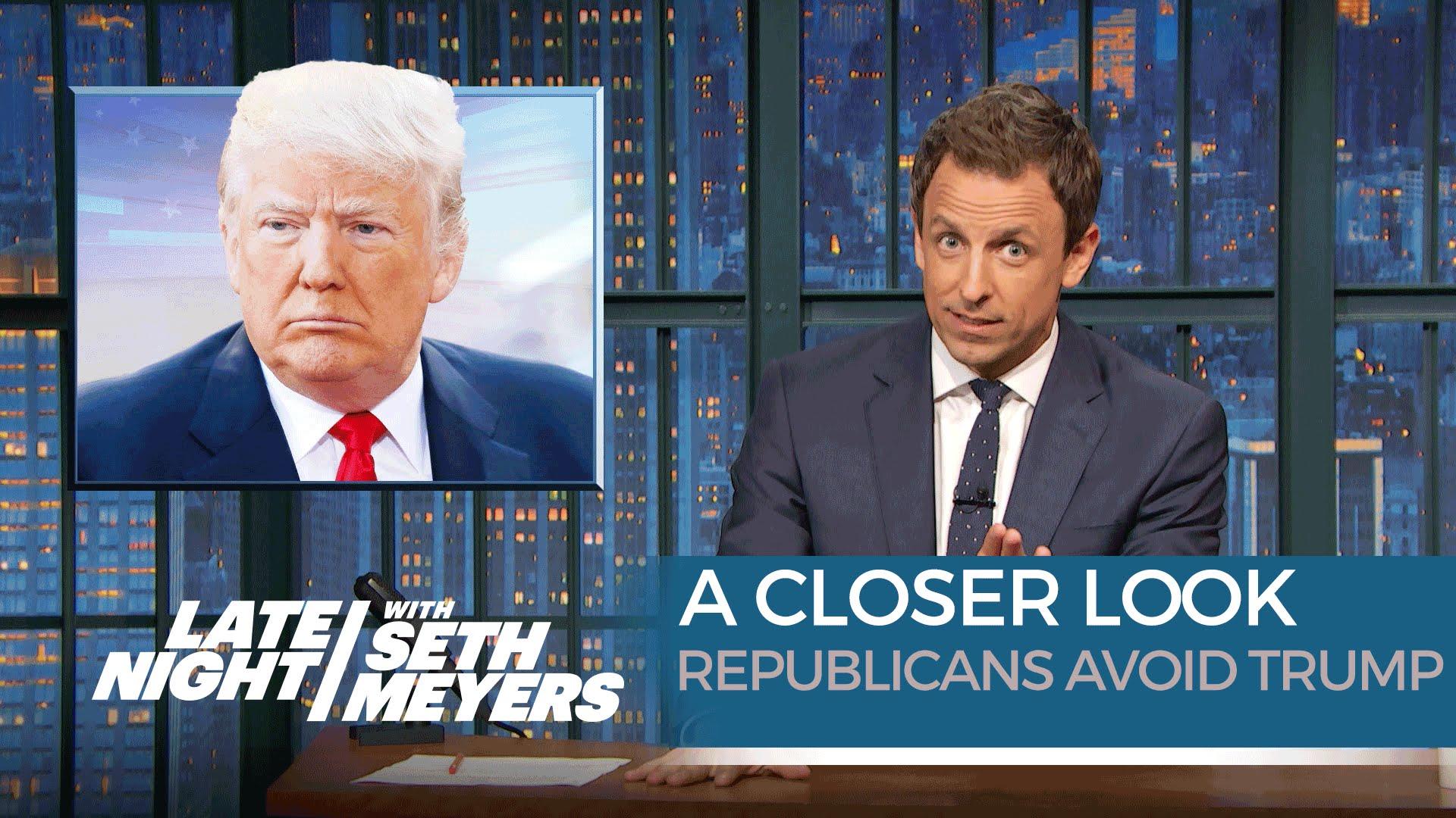 late night trump republicans seth meyers