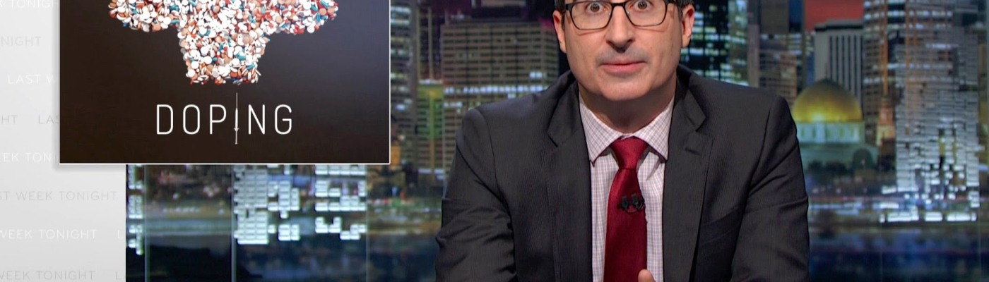 Olympic Games john oliver doping