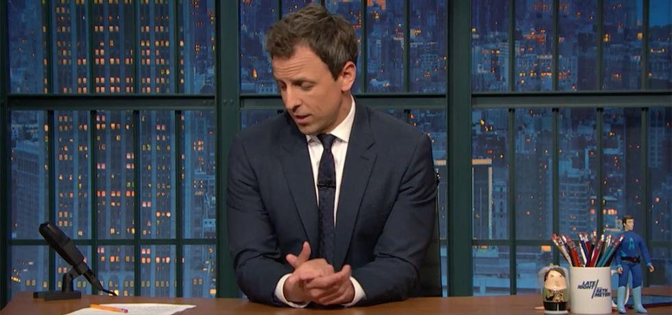 orlando massacre seth meyers
