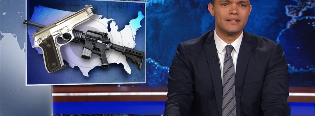 Orlando gun violence trevor noah