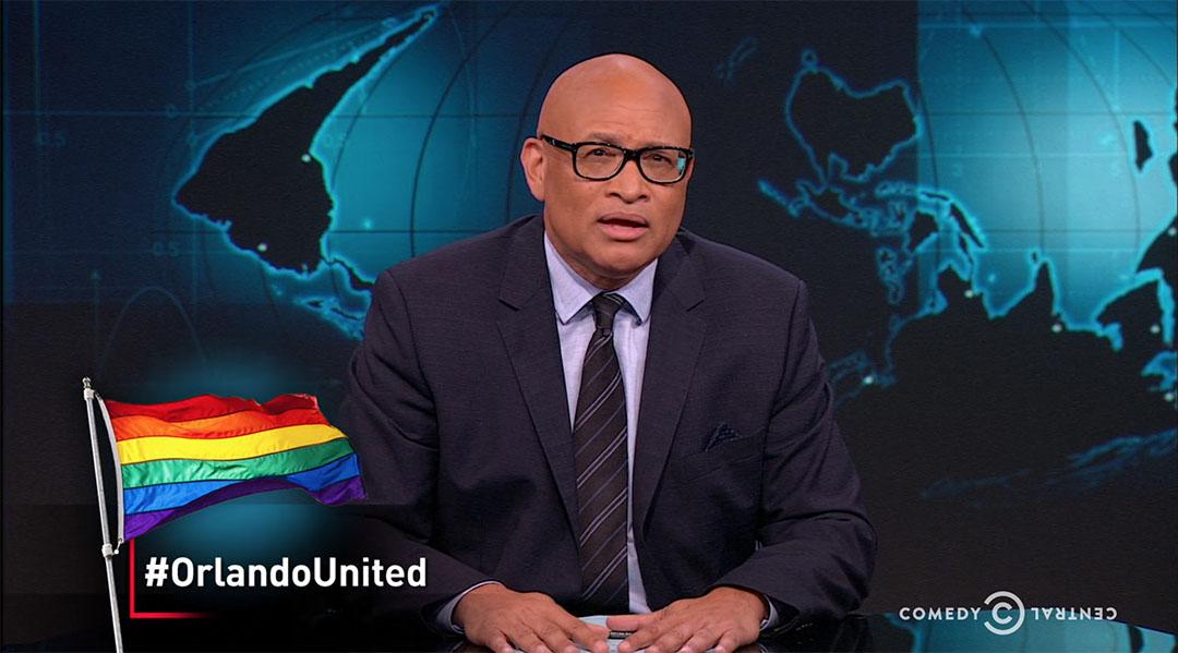 LGBTQ Orlando larry wilmore