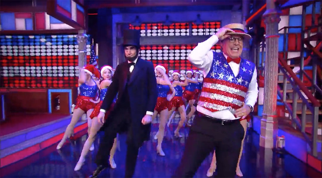 republican national convention colbert song