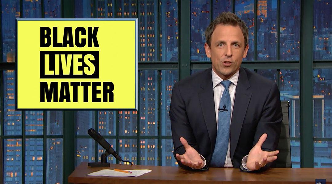 black lives matter seth meyers