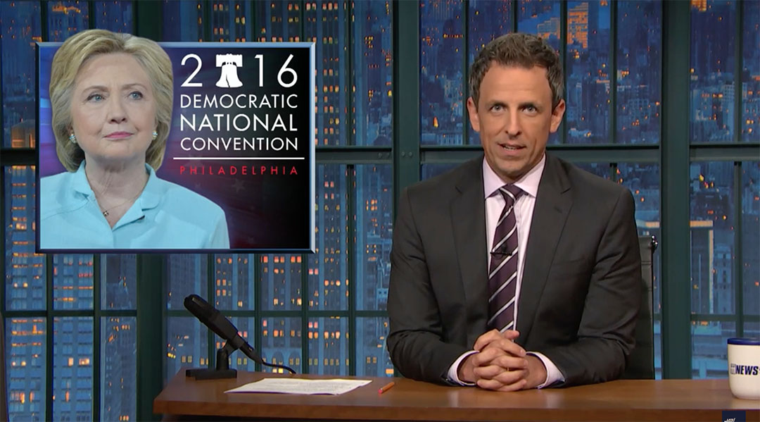 DNC email hack VP seth meyers